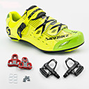 cheap Halloween Party Supplies-SIDEBIKE Bike Cycling Shoes With Pedals & Cleats Road Shoes Cushioning Road Bike Outdoor Breathable Mesh PU Cycling / Bike