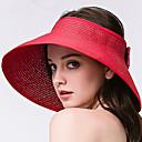 זול עגילים אופנתיים-כובע שמש - אחיד בסיסי בגדי ריקוד נשים