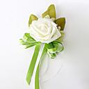 billige Bryllupsblomster-Bryllupsblomster Buketter Boutonnieres Andre Kunstig blomst Bryllup Fest / aften Materiale Blonde Satin 0-20cm