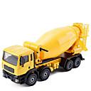 baratos Caminhões de brinquedo e veículos de construção-Veiculo de Construção Misturador de concreto Caminhões & Veículos de Construção Civil Carros de Brinquedo Modelo de Automóvel 01:50