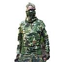 billige Jaktklær-T-skjorte til jaktbruk Herre Fort Tørring Klassisk Topper Langermet til Jakt / Klatring / Fritidssport