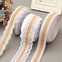 cheap Wedding Decorations-Creative Ribbon Jute Wedding Ribbons - 1 Piece/Set Weaving Ribbon Unique Wedding Décor Decorate favor holder Decorate gift box Decorate
