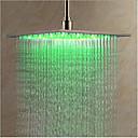 preiswerte Duschköpfe-Moderne Regendusche Chrom Eigenschaft - LED, Duschkopf