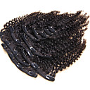cheap Human Hair Wigs-Clip In Human Hair Extensions Kinky Curly Human Hair Extensions Human Hair Brazilian Hair Women's