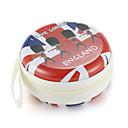 abordables Straps, Dangles, Charms-Fidget mano spinner dedo bolsa británico viento metal auricular universal caso