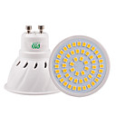 abordables Focos LED-YWXLIGHT® 5W 400-500lm GU10 GU5.3(MR16) E26 / E27 Focos LED 54 Cuentas LED SMD 2835 Decorativa Blanco Cálido Blanco Fresco Blanco Natural