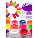 baratos Strass & Decorações-1 bottle Purpurina Brilho / Espumante arte de unha Manicure e pedicure Festa / Festa / Noite / Diário Brilho & Glitter / Neon & Bright