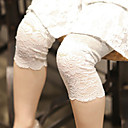 cheap Girls' Pants & Leggings-Girls' Casual/Daily Going out School Solid Pants, Cotton All Seasons Lace White Blushing Pink Gray