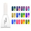 hesapli Sadece Avrupa'da satılır-Polonya UV Jel Tırnak 12ml 1 Soak Off pırıltılar Renk Değişimi UV Üst Katman Jeli Klasik Parıltılı Parlaklık ve ışıltı ışık Neon ve Parlak