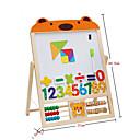 Недорогие Игрушка для обучения чтению-Магнитная мольберт Обучающая игрушка Веселье Классика Детские Подарок