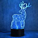 tanie Nowoczesne oświetlenie-1 szt. 3D Nightlight Z portem USB 5 V