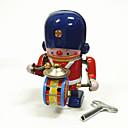 olcso Felhúzható játékok-Robot / Felhúzós játék Gép / Robot / Dob felszerelés Fémes / Vas Vintage 1 pcs Darabok Gyermek / Felnőttek Ajándék