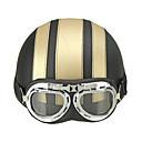 halpa Kypärät ja maskit-Puolikypärä Aikuiset Unisex Moottoripyörä Helmet Kypärä Googles