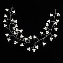 preiswerte Parykopfbedeckungen-Künstliche Perle Stirnbänder / Kopf Kette / Haar-Werkzeug mit 1 Hochzeit / Besondere Anlässe / Draussen Kopfschmuck