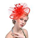 hesapli Parti Başlıkları-Kadın's Şapka Jednolity kolor File Zarif Moda Arkilik Saç Klipsi