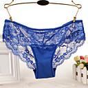 abordables Focos-Mujer Panti Ultrasexy - Encaje, Un Color Baja cintura