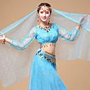 baratos Acessórios de Dança-Dança do Ventre Véu Mulheres Espetáculo Tule Decoração de Cabelo / Véu