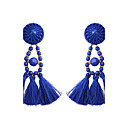cheap RC Drone Quadcopters & Multi-Rotors-Women's Tassel Long Drop Earrings - Tassel, Bohemian, Fashion Purple / Red / Blue For Party Gift Casual