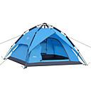 ieftine Corturi & Adăposturi-DesertFox® 4 persoane Cort de Backpacking Dublu Stratificat Automat Dom Cort de campare În aer liber Impermeabil, Rezistent la Vânt pentru Camping & Drumeții 2000-3000 mm Oxford 200*180*130 cm