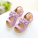 baratos Sapatos de Menina-Para Meninas Sapatos Courino Verão Chanel Sandálias para Branco / Roxo / Rosa claro / Salto Plataforma