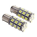 זול Car Signal Lights-2pcs 1,156 מכונית נורות תאורה SMD 5050 265lm LED אור אחורי For אוניברסלי