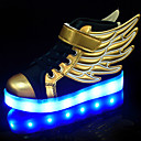 cheap Girls' Shoes-Boys' Shoes PU Summer / Fall Comfort / Novelty / Light Up Shoes Sneakers Walking Shoes Lace-up / Hook & Loop / LED for Gold