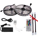 billige LED Strip Lamper-72W W Lyssett 7000 lm AC 100-240 10 m 600 leds RGB