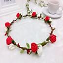 저렴한 파티 악세사리-거품 머리띠 꽃 화환 머리 장식 고전적인 여성 스타일