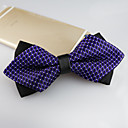 cheap Men's Ties & Bow Ties-Men's Party / Work / Basic Polyester Bow Tie - Jacquard / Cute