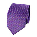 cheap Men's Ties & Bow Ties-Men's Party / Work Polyester Necktie - Jacquard