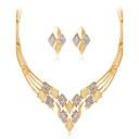 abordables Collares-Mujer Geométrico Conjunto de joyas - Brillante Moda, Euramerican Incluir Collar Dorado Para Boda Fiesta Ocasión especial