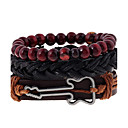 cheap Bracelets-Men's Women's Leather Bracelet - Leather Ladies, Fashion Bracelet Jewelry Rainbow For Wedding Party Sports