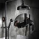 preiswerte Badarmaturen-Duscharmaturen - Antike Öl-riebe Bronze Mittellage Keramisches Ventil