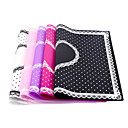 cheap Other Nail Tools-beauty care pro nail art equipment advanced silicone table mat pad cute point lace silicone foldable washable salon manicure