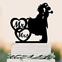 billige Ringpuder-Kagedekorationer Strand Tema Have Tema Sommerfugl Tema Klassisk Tema Eventyr Tema Rustik Theme Vintage tema Fødselsdag Familie Bryllup