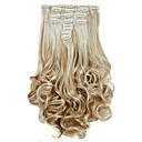 cheap Synthetic Extensions-Synthetic Hair Hair Extension Wavy Classic Clip In Daily High Quality