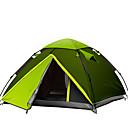 رخيصةأون ستيانات للحامل-HUILINGYANG 3-4 أشخاص في الهواء الطلق خيمة الكاميرا ضد الهواء مقاوم للماء مكتشف الأمطار الأشعة فوق البنفسجية مقاوم التنفس إمكانية قابلة للطى غرفة واحدة طبقات مزدوجة خيمة التخييم إلى عن على