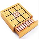 ieftine Bolerouri de Nuntă-Jocuri de masă Joc de sah Sudoku puzzle-uri Lemn Bucăți Unisex Adulți Cadou