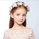 baratos Acessórios de Cabelo-Espuma Headbands / Flores / Decoração de Cabelo com Floral 1pç Casamento / Ocasião Especial / Casual Capacete
