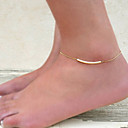 cheap Body Jewelry-Leg Chain Bohemian Women's Gold / Silver Body Jewelry For Wedding / Special Occasion / Anniversary / Birthday / Casual / Sports