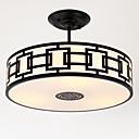 baratos Luminárias de Teto-3-luz Montagem do Fluxo Luz Ambiente - Estilo Mini, 110-120V / 220-240V Lâmpada Não Incluída / 15-20㎡ / E26 / E27