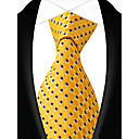 cheap Cake Toppers-Men's Party Work Basic Polyester Necktie - Striped