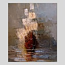 cheap Landscape Paintings-Oil Painting Hand Painted - Abstract Classic Modern Canvas