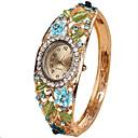 Недорогие Модные часы-Жен. Дамы Часы-браслет Кварцевый Творчество Повседневные часы Cool Аналоговый Винтаж На каждый день Кольцеобразный Мода - Лиловый Желтый Синий Один год Срок службы батареи / SSUO LR626