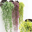 cheap Artificial Flower-Artificial Flowers 1 Branch Pastoral Style Plants Basket Flower