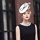 abordables Chapeau & coiffure-Polyester Kentucky Derby Hat / Bandeaux avec 1 Mariage / Occasion spéciale / De plein air Casque