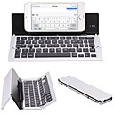 cheap Keyboards-Wireless Tablet Keyboard Mini Slim Foldable Rechargeable Novelty Lithium Battery powered