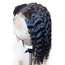 cheap Human Hair Wigs-Human Hair Glueless Full Lace Full Lace Wig Curly Wig 130% Hair Density Natural Hairline African American Wig 100% Hand Tied Women's Short Medium Length Long Human Hair Lace Wig ELVA HAIR