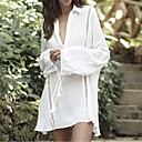 cheap Necklaces-Women's Cover-Up - Solid Colored Mesh