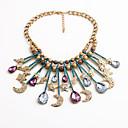 preiswerte Perlenketten-Damen Statement Ketten - Tropfen, MOON, Stern Personalisiert, Einzigartiges Design Regenbogen Modische Halsketten Schmuck Für Einweihungsparty, Herzliche Glückwünsche, Normal